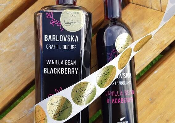 Barlovska gold medal NZ Spirits Awards